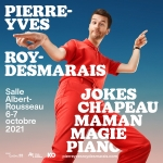 Pierre-Yves Roy-Desmarais (avec distanciation)