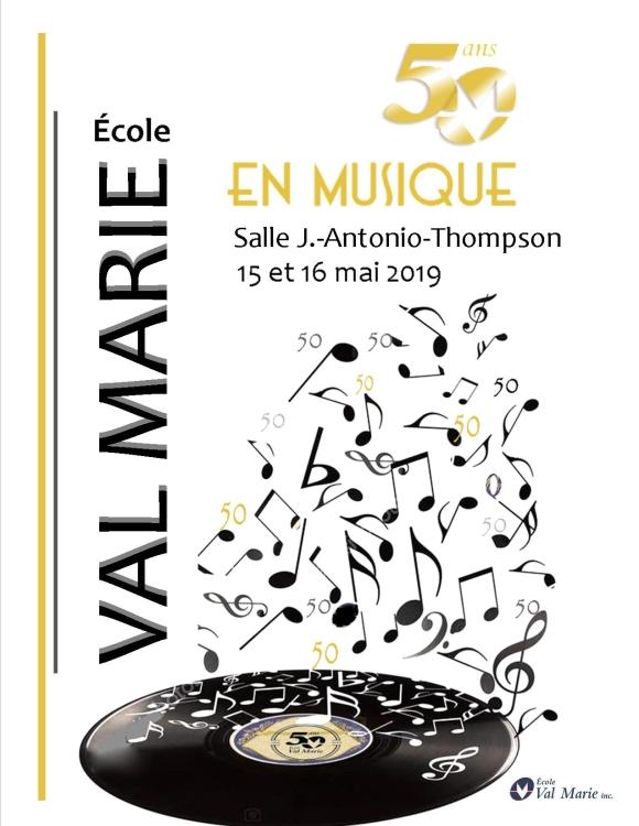 École Val Marie (50 ans EN MUSIQUE!)