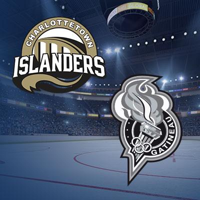 Les Islanders de Charlottetown vs Les Olympiques de Gatineau