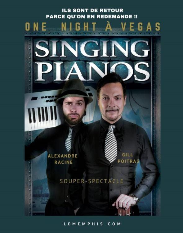 One Night à Vegas avec The Singing Pianos