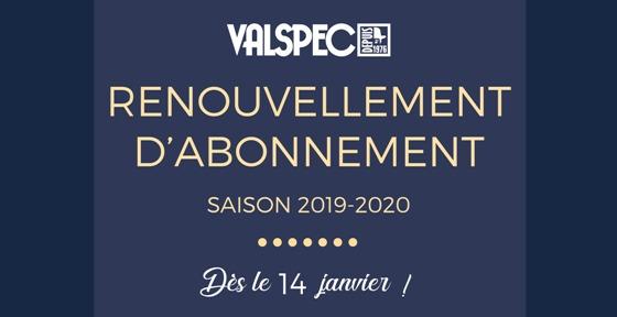 Abonnement de saison 2019-2020