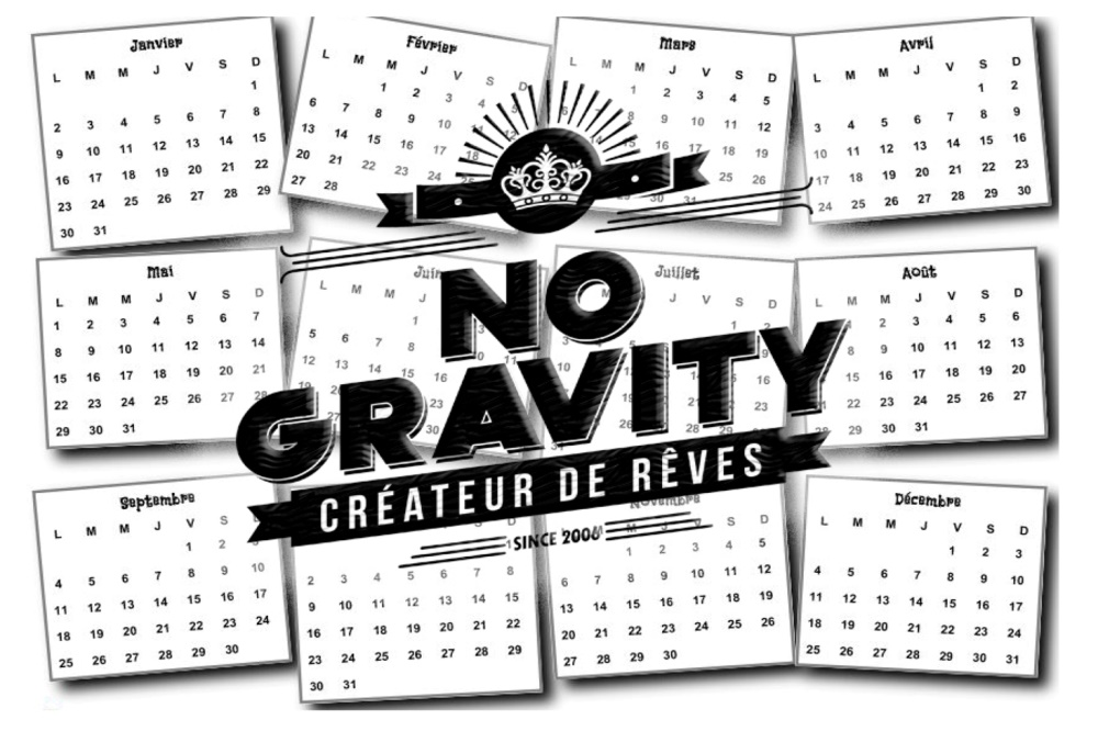 Une année signée NO GRAVITY!