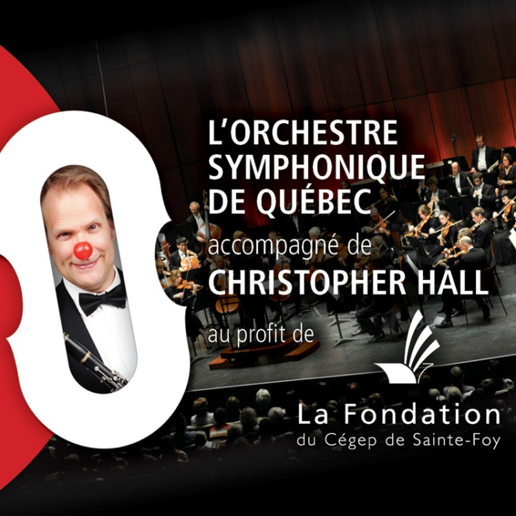 Fondation Cégep Sainte-Foy - l'OSQ et Christopher Hall