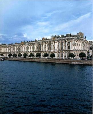 L'Ermitage de St-Pétersbourg