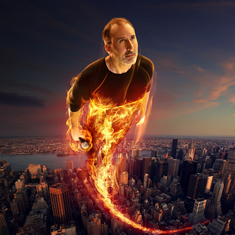 Spectacle Martin Petit: Pyroman présenté au Carré 150  de Victoriaville