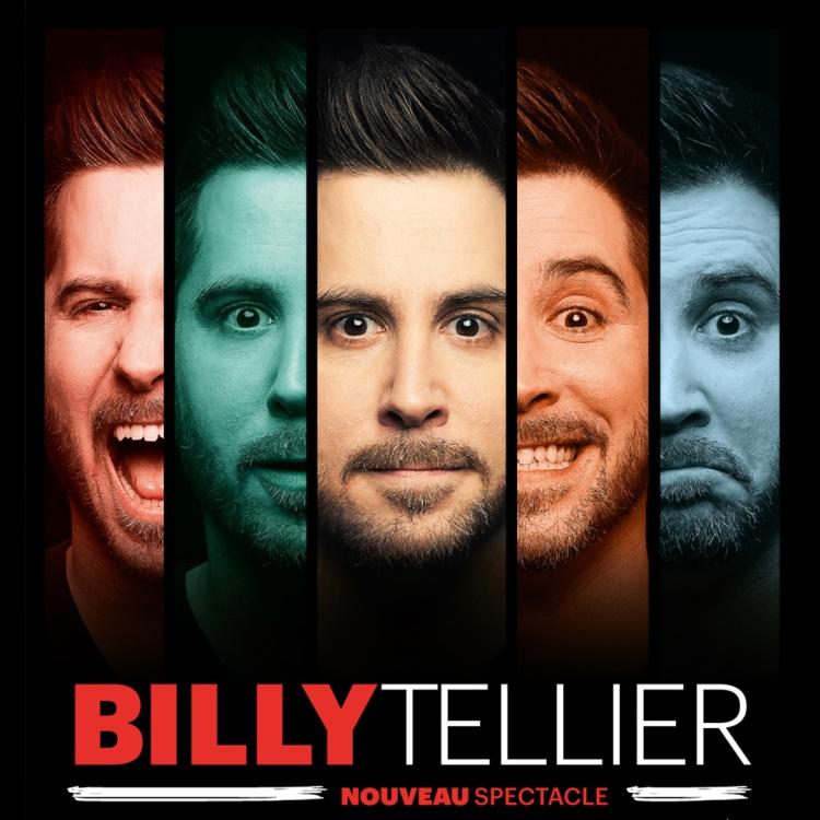 Spectacle Billy Tellier: Hypocrite(s) présenté au Carré 150  de Victoriaville