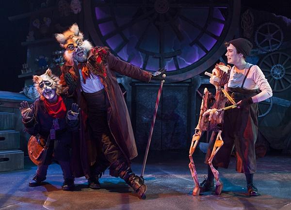 Spectacle Pinocchio: Théâtre Tout à Trac présenté au Carré 150  de Victoriaville