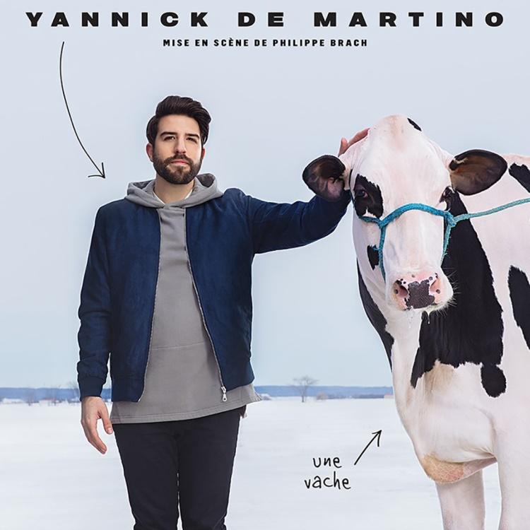 Spectacle Yannick de Martino: En rodage présenté au Carré 150  de Victoriaville