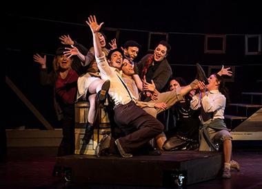 Spectacle Amsterdam: Théâtre musical de Mélissa Cardona présenté au Carré 150  de Victoriaville