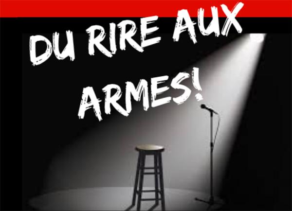 Spectacle Dubé - Vanasse: Du rire aux armes! présenté au Carré 150  de Victoriaville