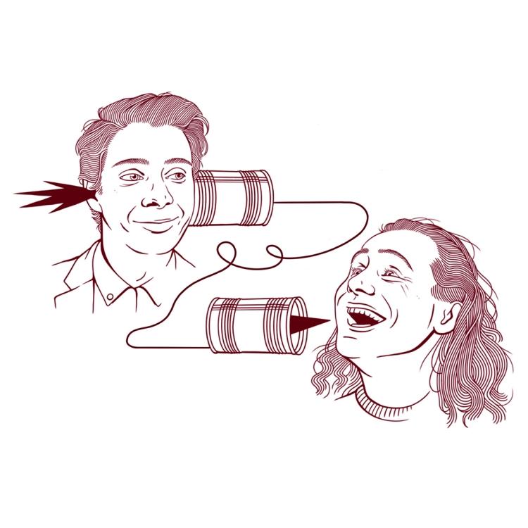 Spectacle Sam Boisvert et David Beaucage: En rodage présenté au Carré 150  de Victoriaville