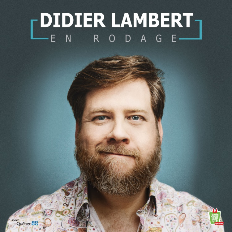 Didier Lambert en rodage